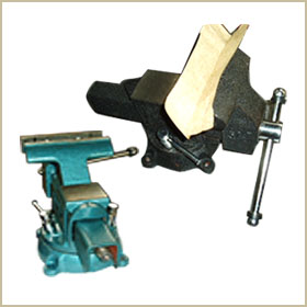 american type bench vises with swivel base