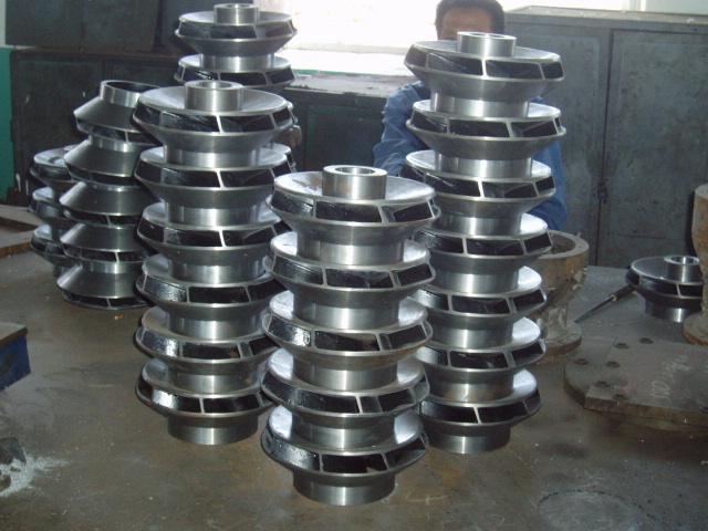 pump impeller casting