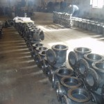 control valve vertical body casting pic