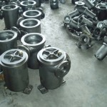 single basket strainer castings