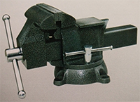 american bench vise swivel with anvil