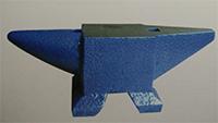 cast steel anvil