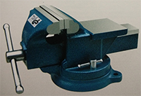 gs tuv approved bench vise swivel base with anvil