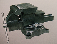 american type bench vise reversible swivel with anvil