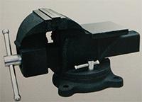 steel  slide bench vise swivel base with anvil I