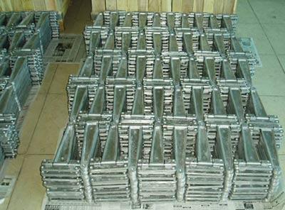 die casting reel frames